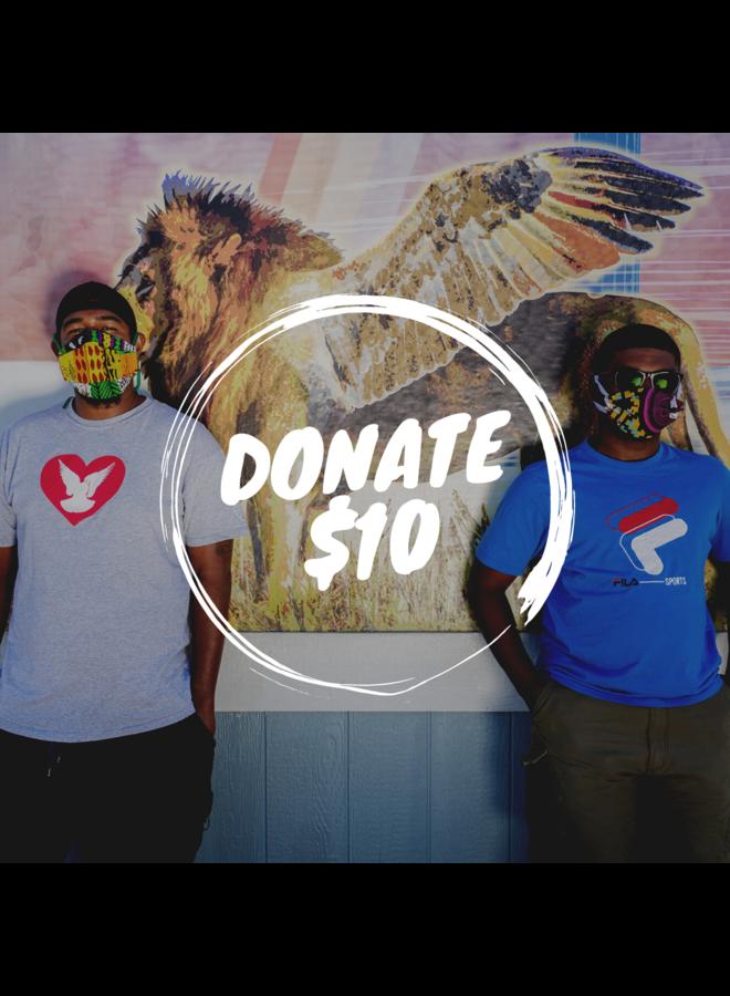Donate $10 to SPY!