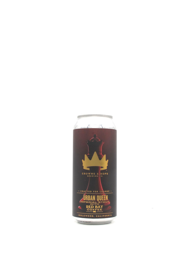 Crowns & Hops Urban Queen Imperial Stout 16oz