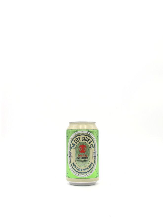 Tin City Cider Co. Original Dry Hopped Cider 12oz