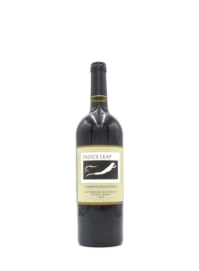 2016 Frog's Leap Cabernet Sauvignon Estate Grown Rutherford 750ml