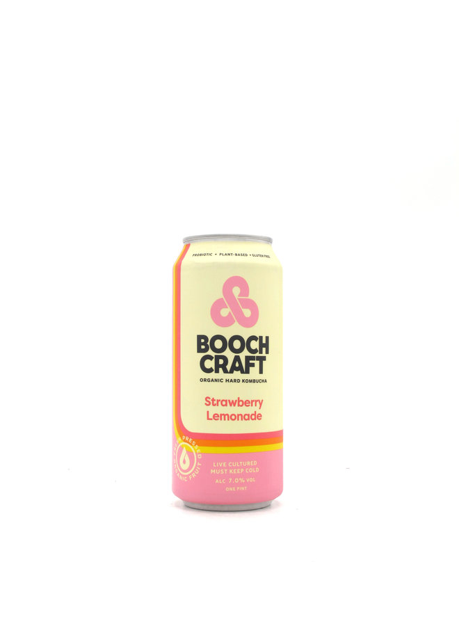 Boochcraft Strawberry Lemonade 16oz