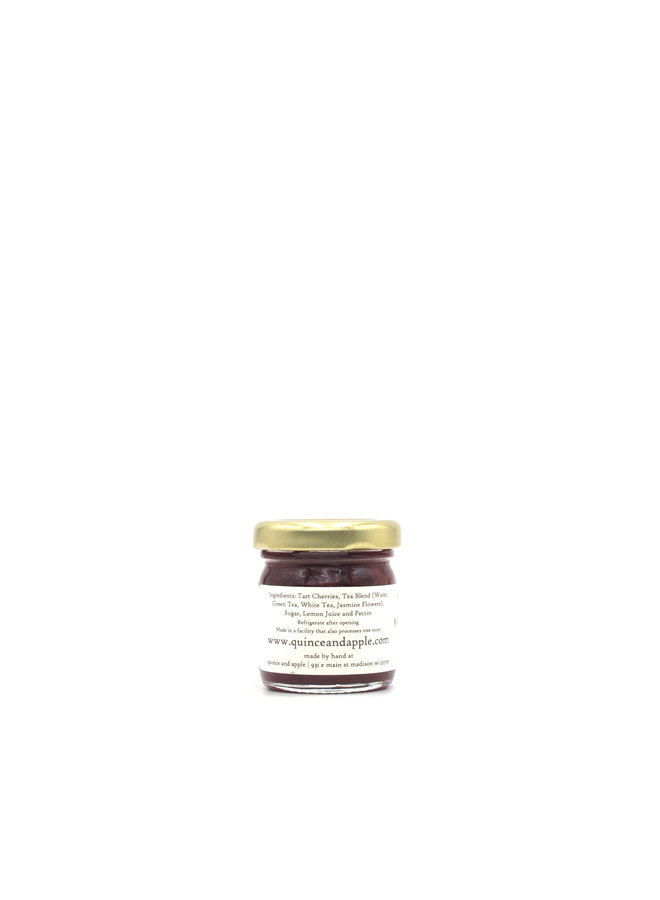 The Quince & Apple Co. Tart Cherry & White Tea Jam 1.5oz