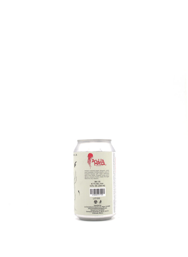 Cerveceria Aguamala Vieja Amber Lager 12oz