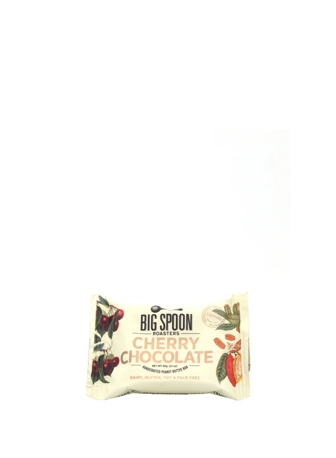Big Spoon Cherry Chocolate Bar 60g