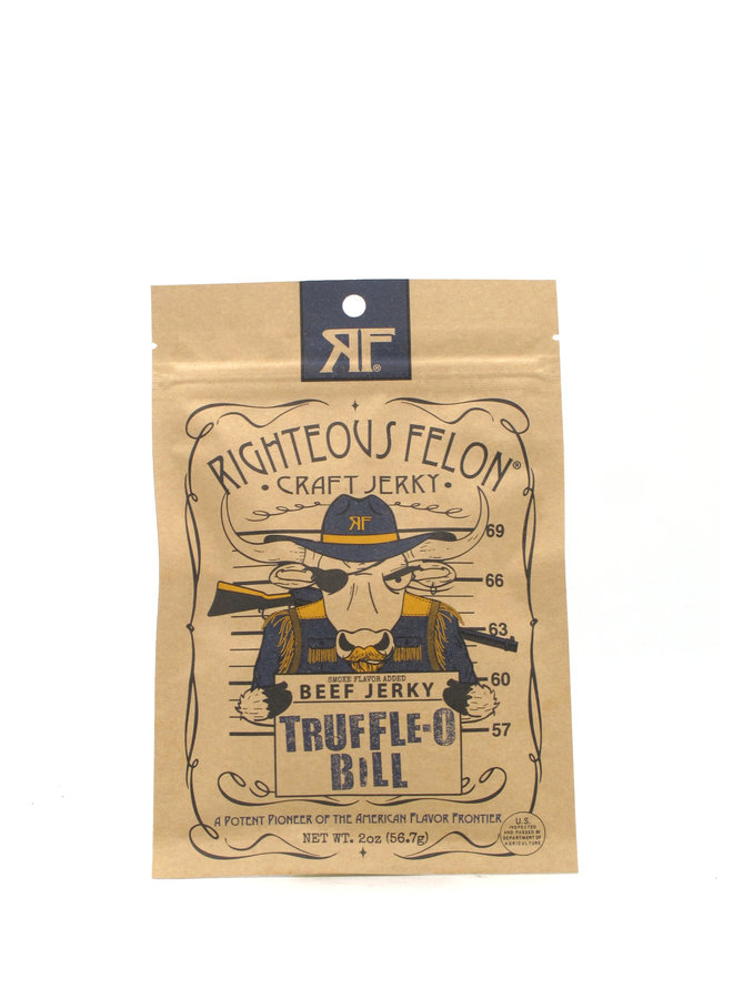 Righteous Felon Craft Jerky Truffle-O Bill 2oz
