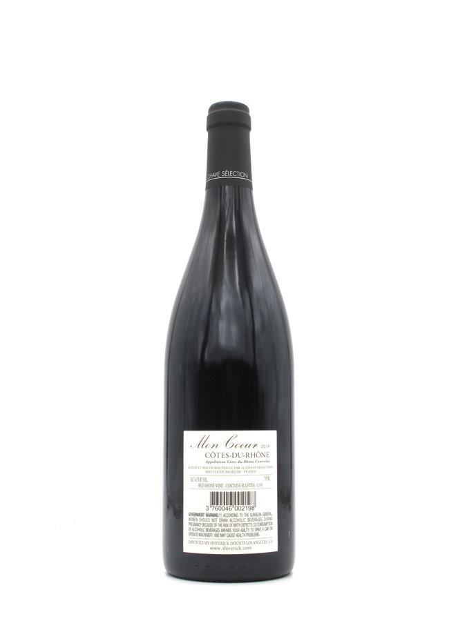 """2019 J.L. Chave """"Mon Coeur"""" Côtes-du-Rhône 750mL"""