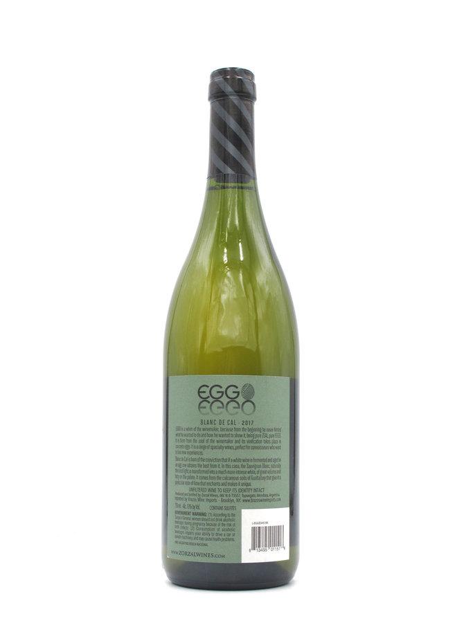 2017 Zorzal 'Eggo Blanc de Cal' 750ml
