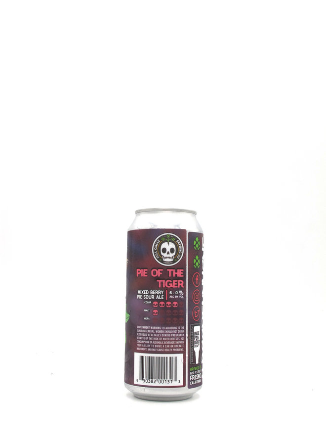 Full Circle Brewing Co. Pie of the Tiger Mixed Berry Sour 16oz