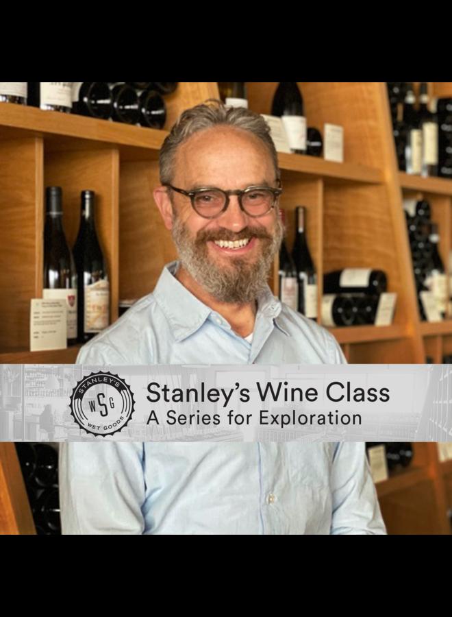 Stanley's Wine Class - Pinot Noir 4 Ways 5.20.21