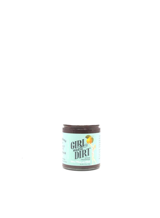 Girl Meets Dirt  Shiro Plum & Mint Spoon Preserves 7.75oz