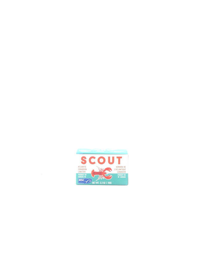 Scout Atlantic Canadian Lobster 3.2oz