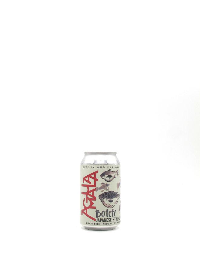 Cerveceria Aguamala Botete Rice Lager 12oz