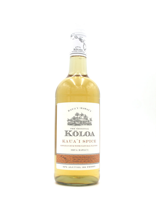 Koloa Kaua'i Spiced Rum 1L