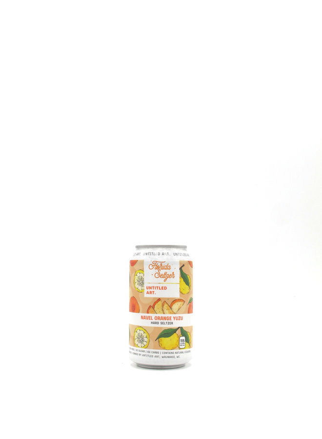 Untitled Art Florida Seltzer Orange Yuzu 12oz