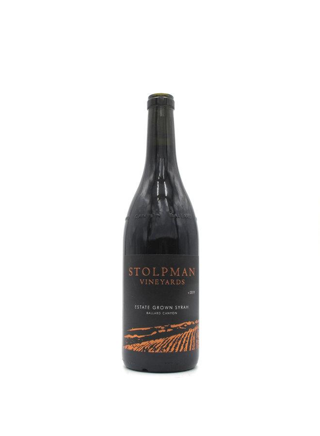 2019 Stolpman Vineyards Santa Ynez Valley Syrah Estate Grown 750mL