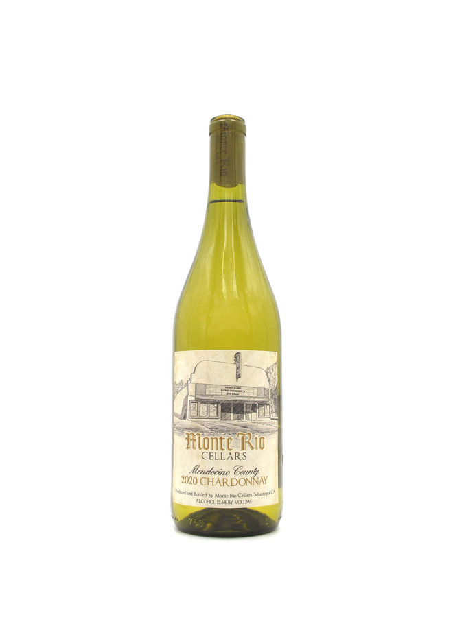 2020 Monte Rio Chardonnay 750ml
