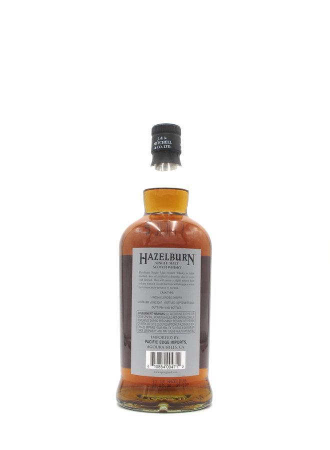 Hazelburn 13 Year Oloroso Cask Single Malt Scotch