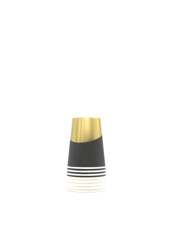 Cakewalk Assorted Gold Dipped Paper Cups 9oz (Set of 8)