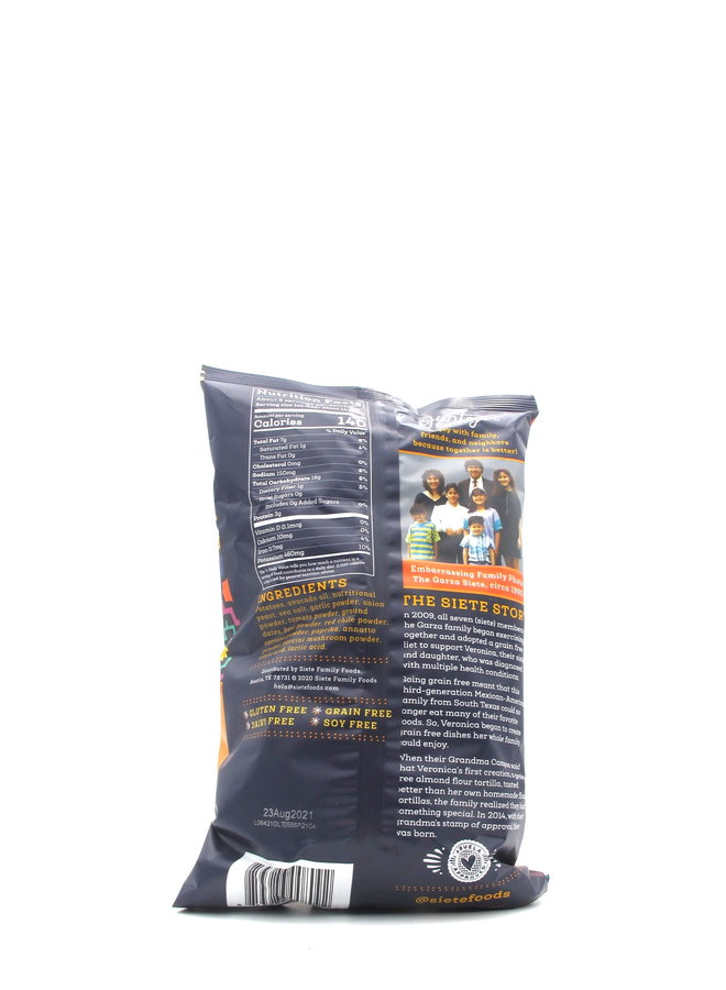 Siete Small Batch Queso Kettle Cooked Potato Chips 5.5oz