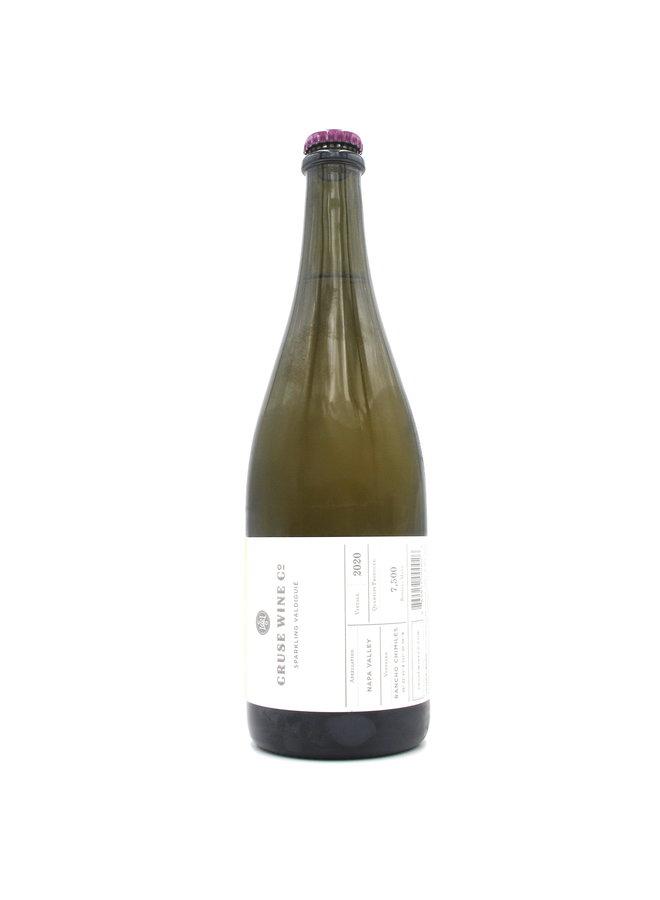 2020 Cruse Wine Co. Rancho Chimiles Vineyard Sparkling Valdiguie 750ml