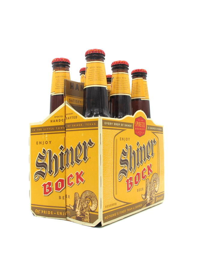 Shiner Bock 12oz 6pk