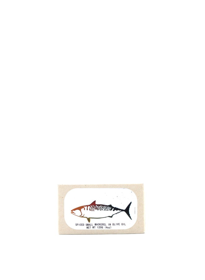 Jose Gourmet Spiced Small Mackerel 120g