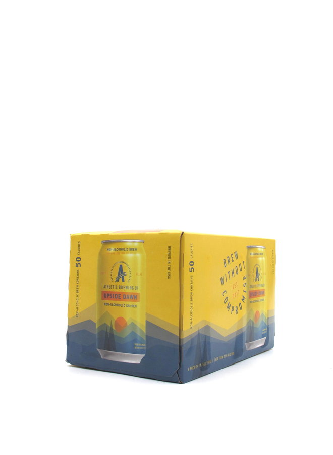 Athletic Brewing Co. Upside Dawn Golden Ale NON-ALC 12oz 6pk