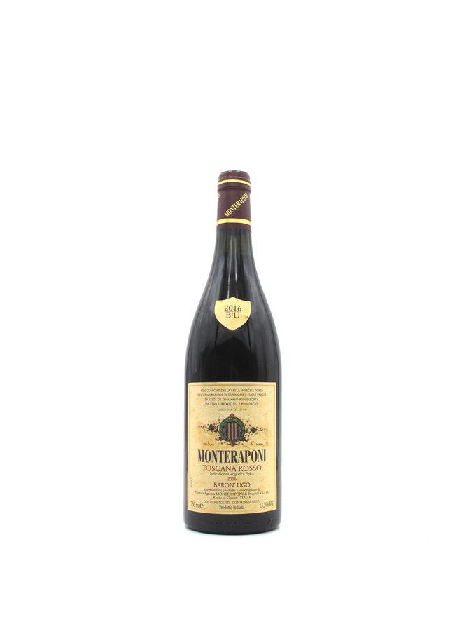 2016 Monteraponi Toscana Rosso Baron' Ugo 750ml
