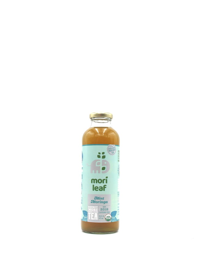 Mori Leaf Mint Moringa Tea 16oz