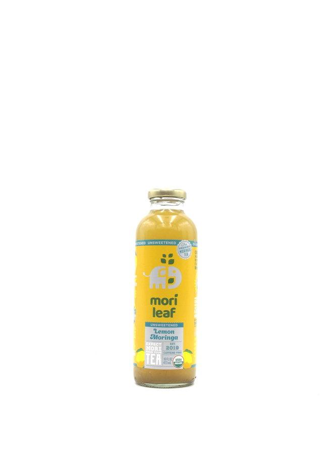 Mori Leaf Unsweetened Lemon Tea 16oz