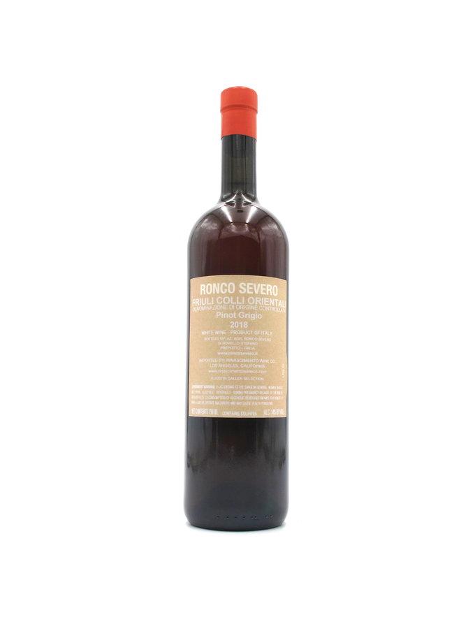2018 Ronco Severo Pinot Grigio Ramato 750ml