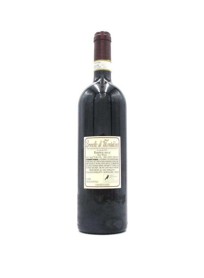 2015 Padelletti Brunello di Montalcino Riserva 750ml