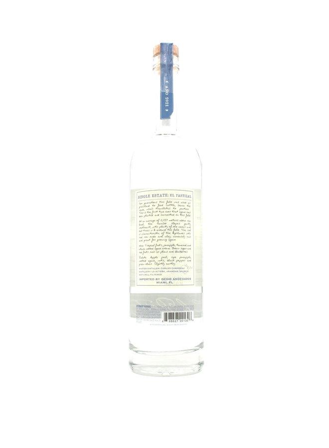 2021 Tequila Ocho Plata 'El Pastizal' 750mL