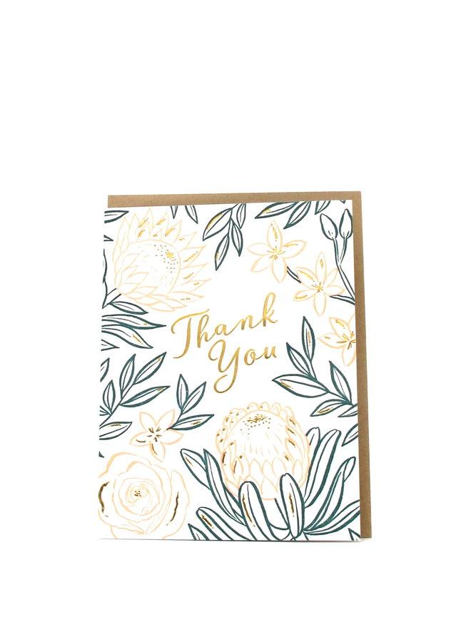 Bloom Thank You Elum Greeting Card