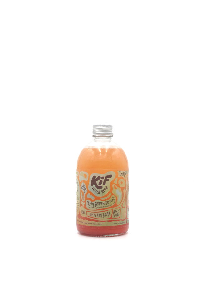 Kif Fizzy Fermented Tonic Watermelon Mint  12oz