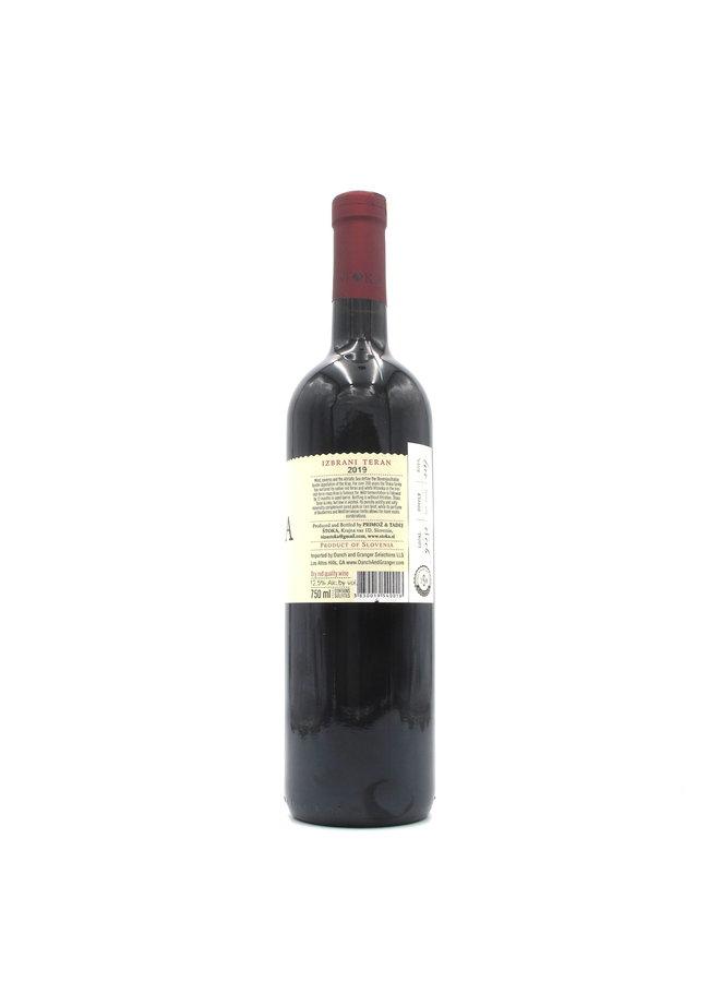 2019 Stoka Winery 'Teran' 750ml
