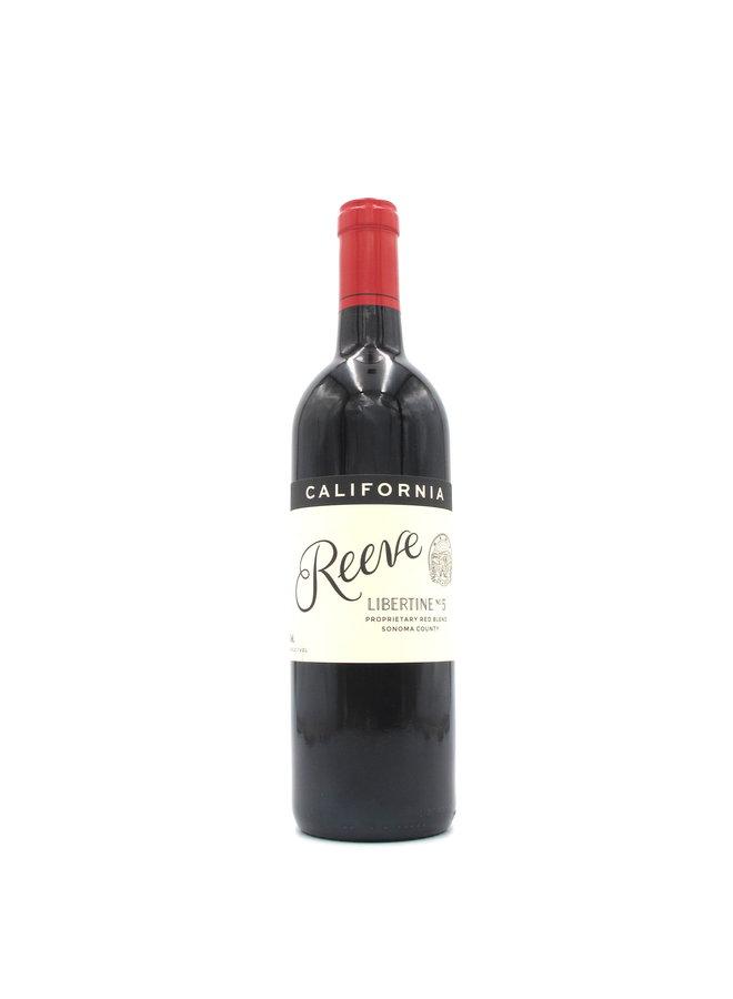 2018 Reeve 'Libertine No.5' Sonoma Coast Red Blend 750ml