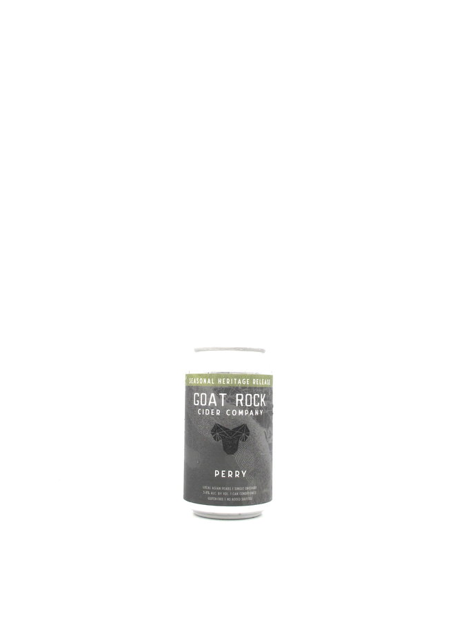 Goat Rock Cider Co. Perry 12oz