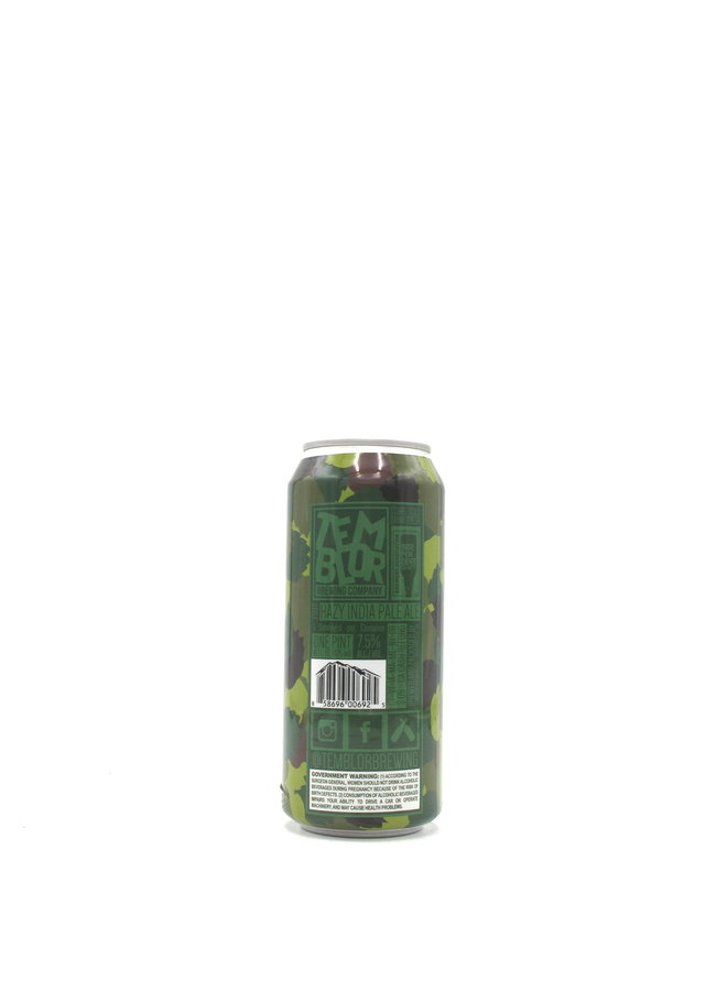 Temblor Brewing Have You Seen My Beer? IPA 16oz