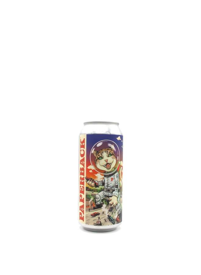 Paperback Brewing Co. Attack of the Space Cats 16oz