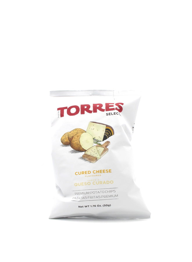 Torres Potato Chips Cured Cheese 50g