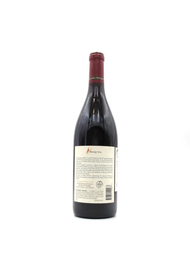 2018 Presqu'ile Estate Pinot Noir, 750ml