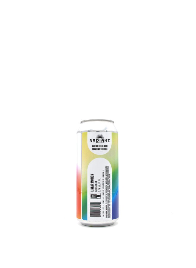 Radiant Beer Co. Linear Motion Hazy Pale Ale 16oz