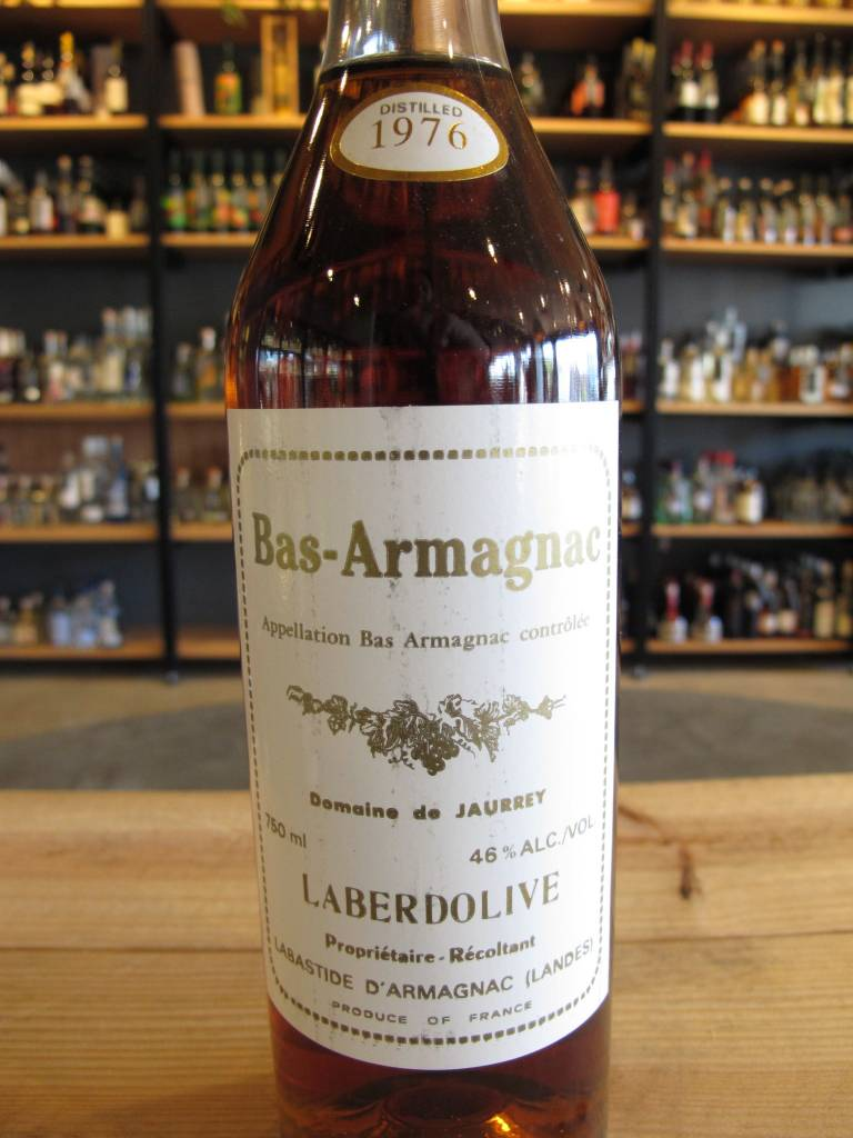 Laberdolive 1976 Laberdolive Domaine de Jaurrey Bas Armagnac 750mL