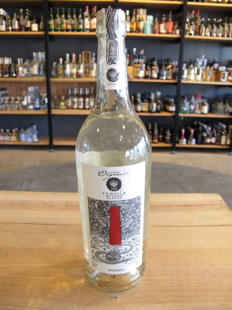 123 Tequila 123 Tequila Blanco Uno 750mL