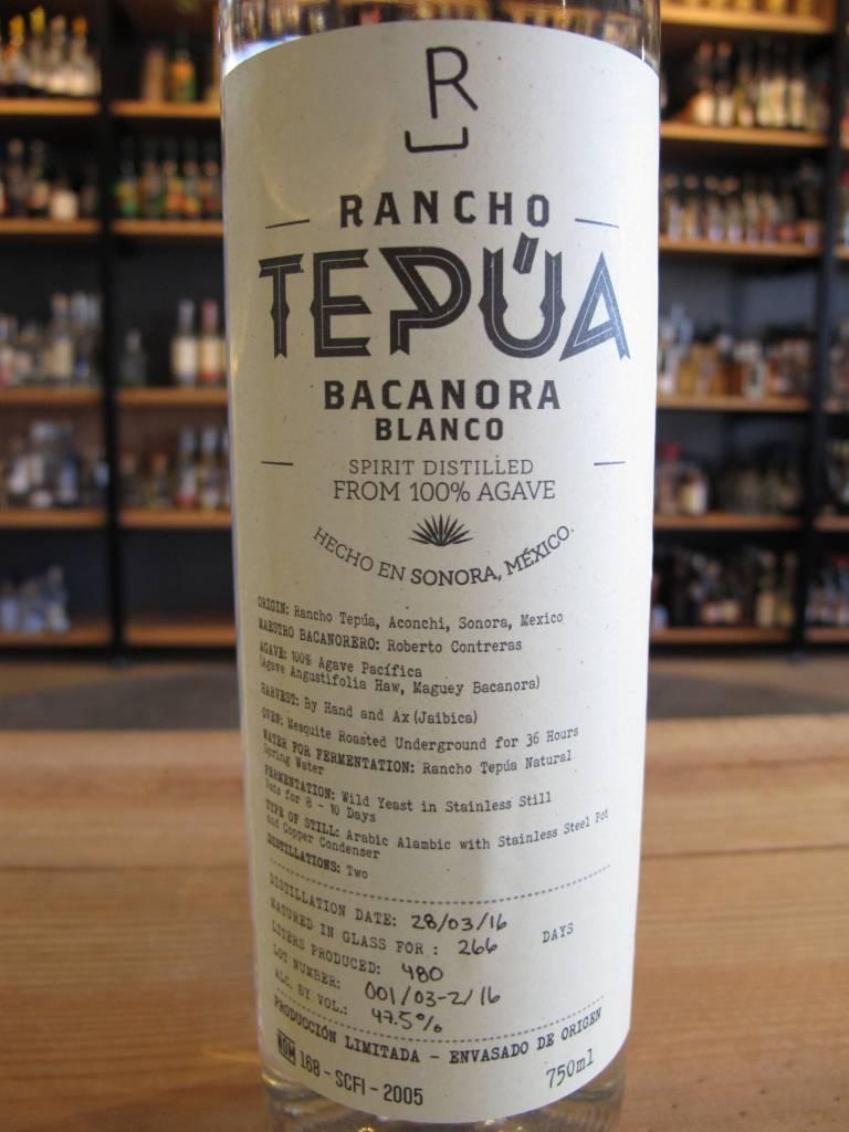 Rancho Tepúa Rancho Tepúa Bacanora Blanco 750mL