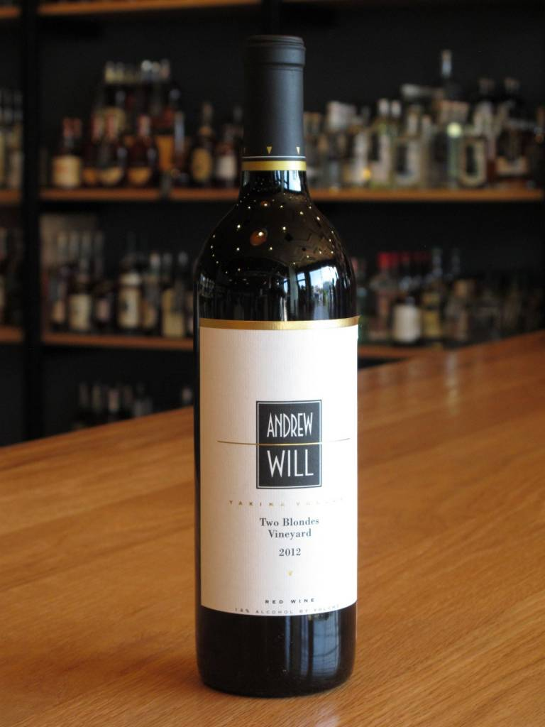 Andrew Will 2012 Andrew Will Red Wine Two Blondes Vineyard 750ml