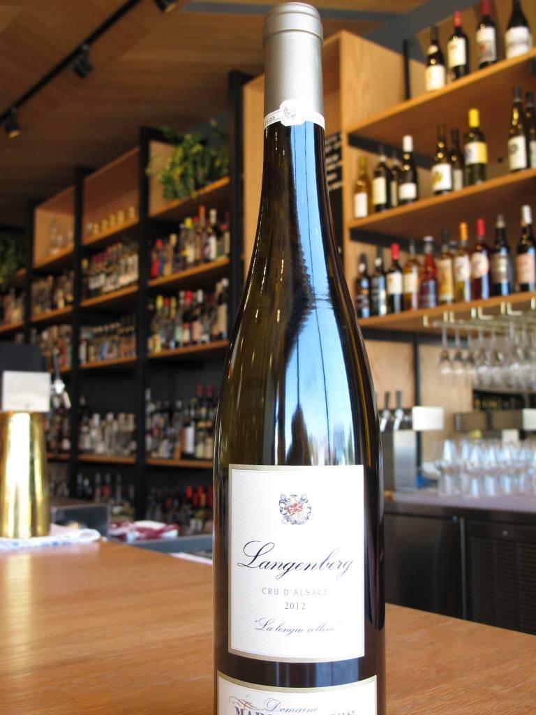Marcel Deiss 2012 Domaine Marcel Deiss Langenberg Cru d'Alsace ''la longue colline'' 750ml