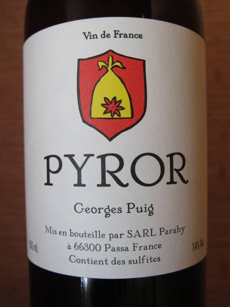 George Puig Georges Puig ''Pyror'' Rancio Sec 500mL