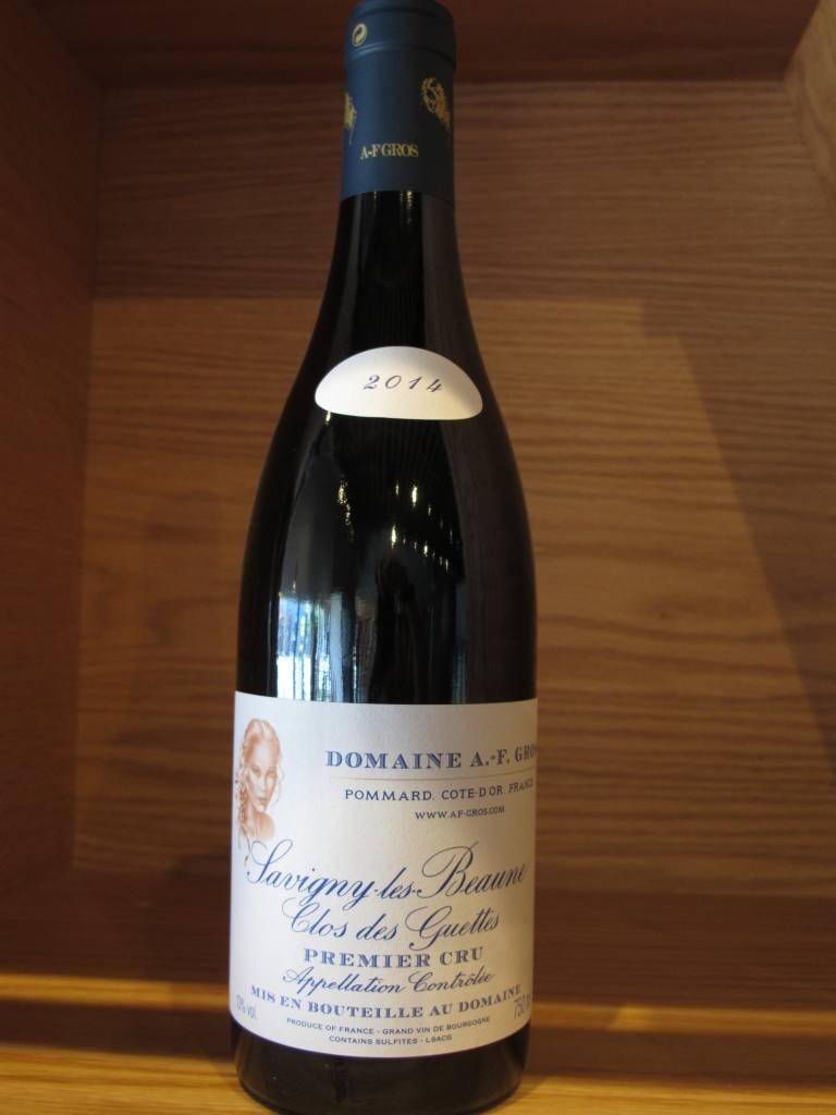 Domaine A.-F. Gros 2014 Domaine A.F. Gros Savigny-Les-Beaunes Le Clos des Guettes 750mL
